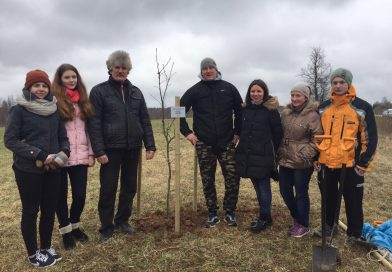 "Daugavpils novada jaunatnes akcija ""Augsim Latvijai"""